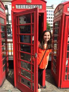Michele Nunnelly is currently studying abroad in London, England as part of the UNH-Managed program.